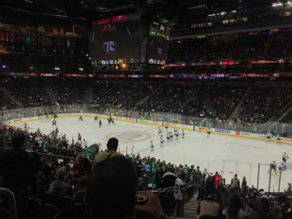 T-Mobile Arena, section: 8, row: Y