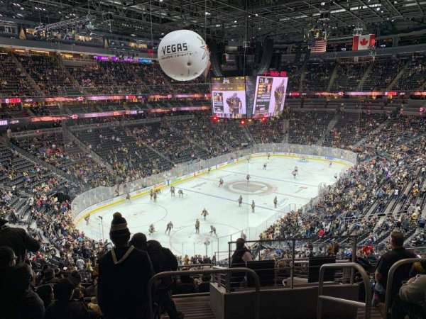 T-Mobile Arena, section: 104, row: K, seat: 15