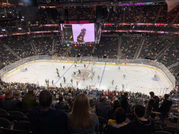 T-Mobile Arena, section: 206, row: K, seat: 15