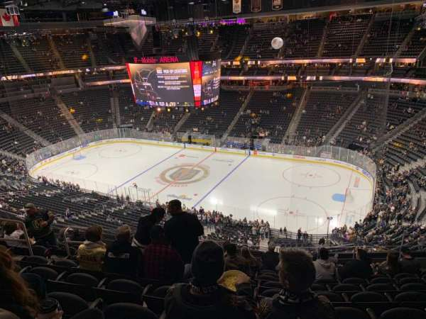 T-Mobile Arena, section: 226, row: K, seat: 8
