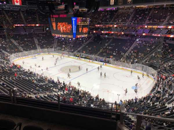 T-Mobile Arena, section: 227, row: C, seat: 8