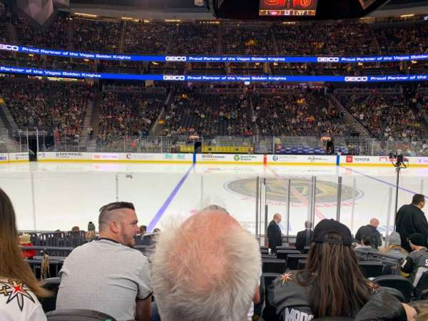T-Mobile Arena, section: 15, row: G, seat: 15