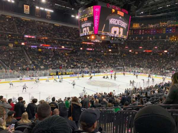 T-Mobile Arena, section: 13, row: S, seat: 9