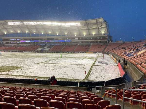 Rio Tinto Stadium, section: 34, row: M, seat: 4