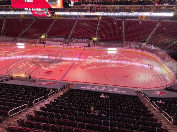 Gila River Arena, section: 1104