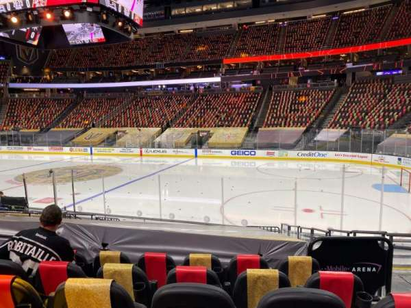 T-Mobile Arena, section: 7, row: J, seat: 12