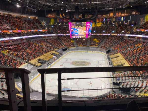 T-Mobile Arena, section: 215, row: A, seat: 8