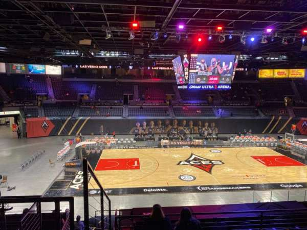 Michelob Ultra Arena, section: 206, row: G, seat: 7