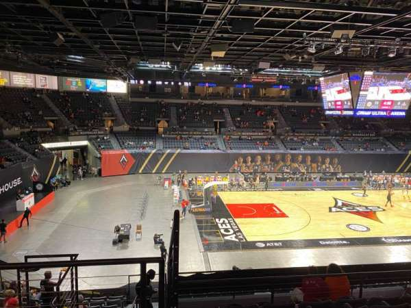 Michelob Ultra Arena, section: 205, row: G, seat: 6
