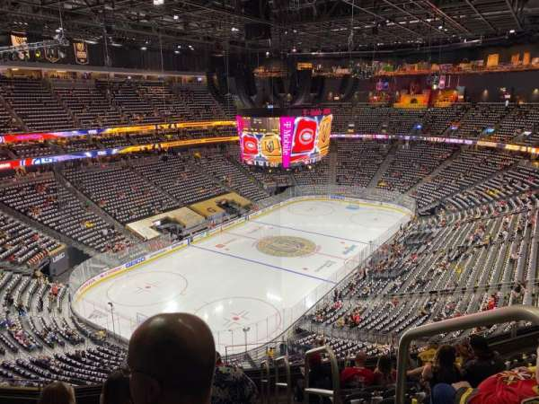 T-Mobile Arena, section: 217, row: J, seat: 17
