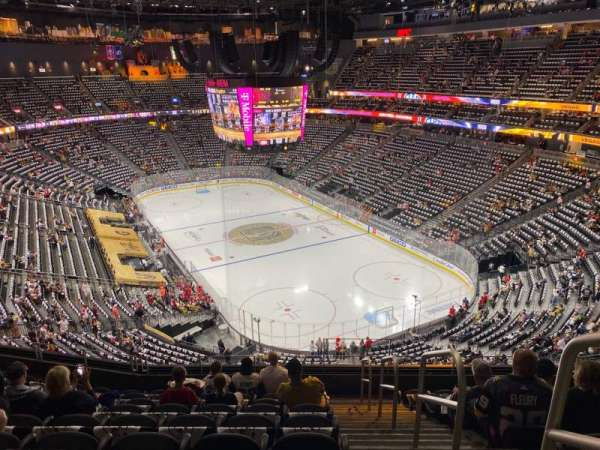 T-Mobile Arena, section: 211, row: J, seat: 17