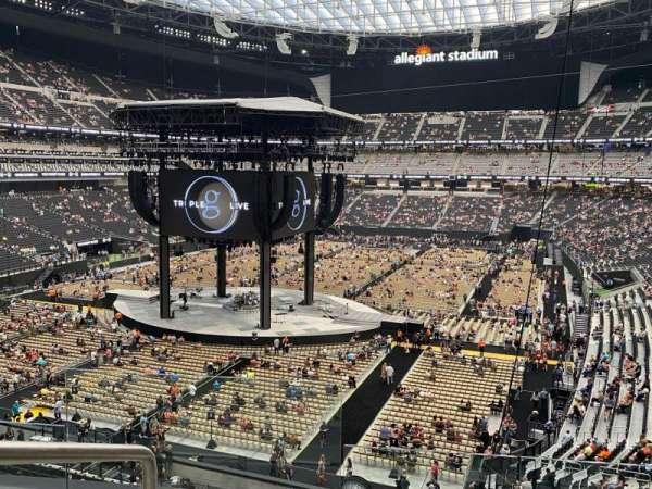 Allegiant Stadium, section: 246, row: 3, seat: 16