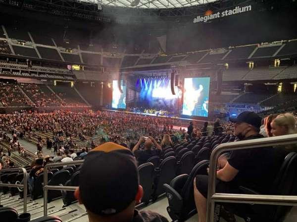 Allegiant Stadium, section: C135, row: 22, seat: 2