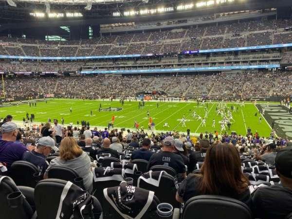 Allegiant Stadium, section: C109, row: 35, seat: 3