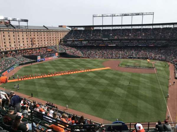 Oriole Park at Camden Yards, section: 381, row: 11, seat: 1