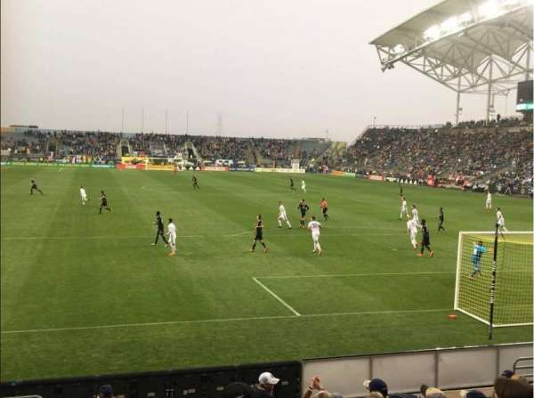 Talen Energy Stadium, section: 118, row: K