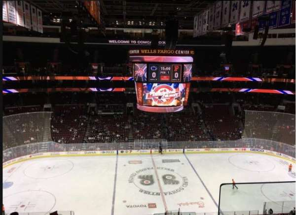 Wells Fargo Center, section: 224, row: 8, seat: 5