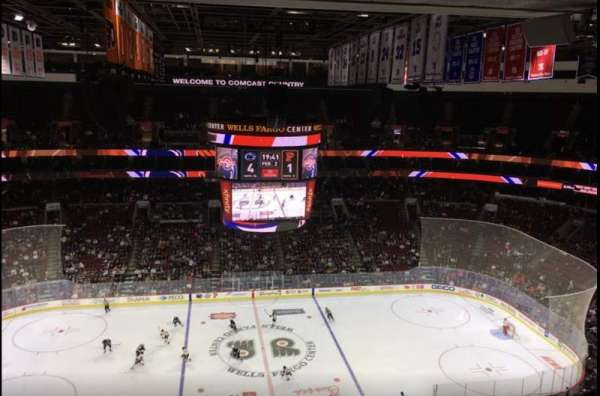 Wells Fargo Center, section: 224, row: 15, seat: 1