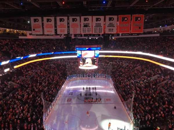 Wells Fargo Center, section: 219A, row: 13, seat: 1