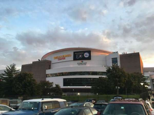 Wells Fargo Center, section: EXTERIOR, row: 1, seat: 1