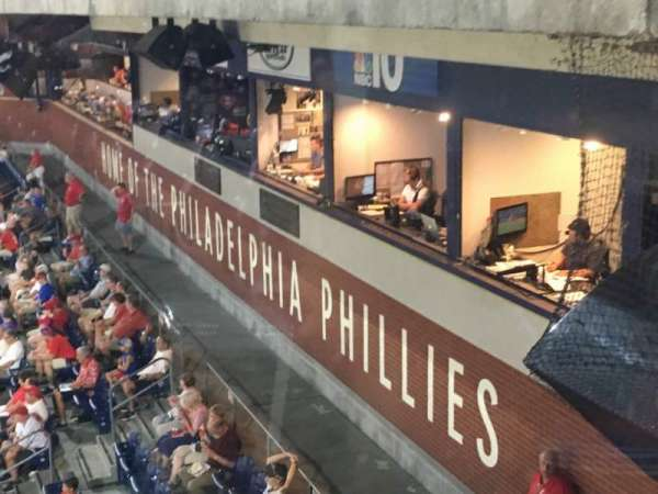 Citizens Bank Park, section: 323, row: 1, seat: 1