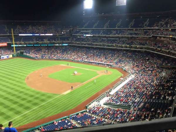 Citizens Bank Park, section: 432, row: 1