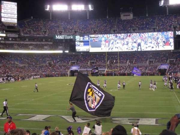 M&T Bank Stadium, section: 138, row: 15, seat: 10