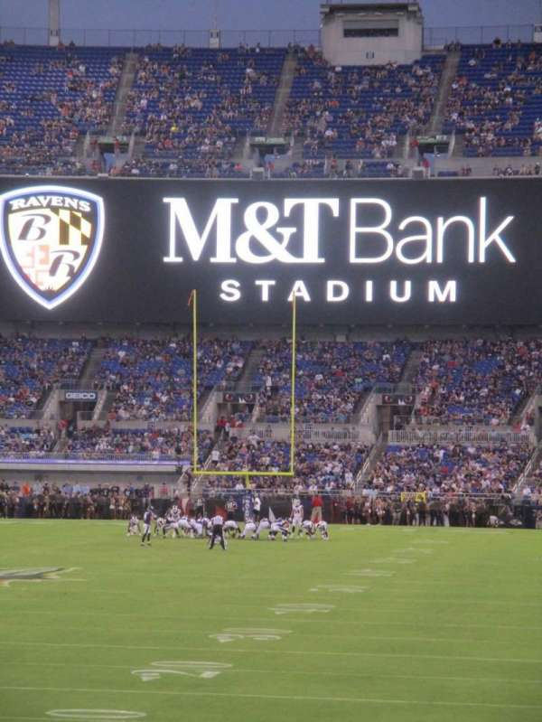 M&T Bank Stadium, section: 138, row: 15, seat: 10
