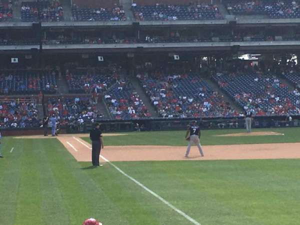 Citizens Bank Park, section: 108, row: 11, seat: 18