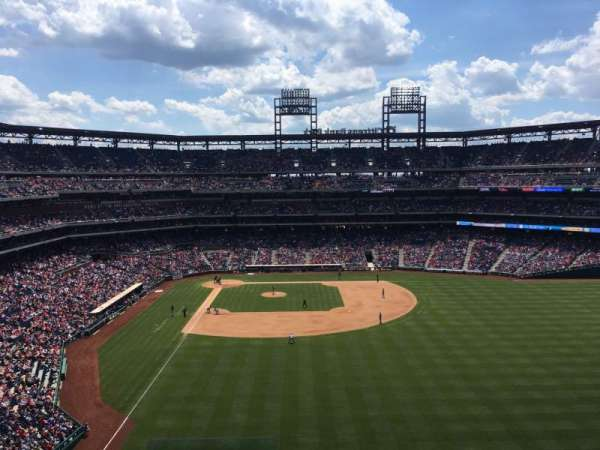 Citizens Bank Park, section: 303, row: 6, seat: 22