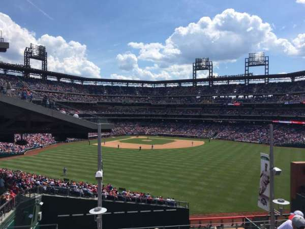 Citizens Bank Park, section: ROOFTOP BLEACHERS, row: 6, seat: 1