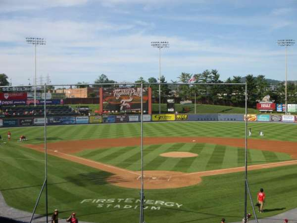 FirstEnergy Stadium (Reading), section: 3, row: 17, seat: 1