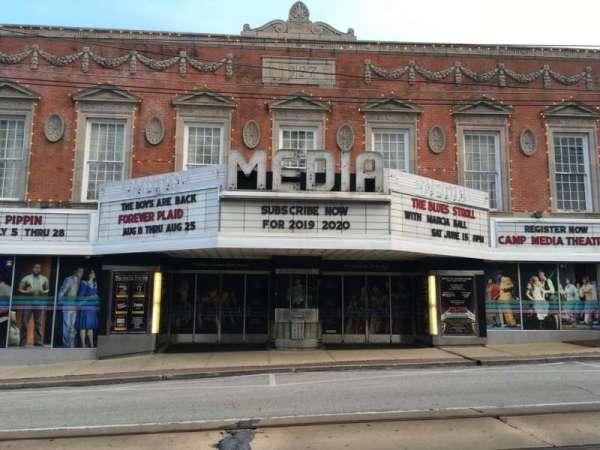 Media Theatre, section: EXTERIOR