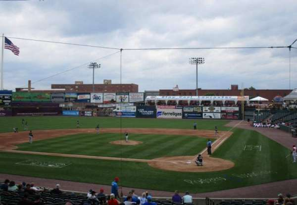 Clipper Magazine Stadium, section: 17, row: T, seat: 1