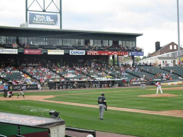 Clipper Magazine Stadium, section: 6, row: I, seat: 5