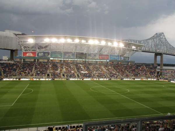 talen energy stadium, section: 310, row: 2, seat: 1
