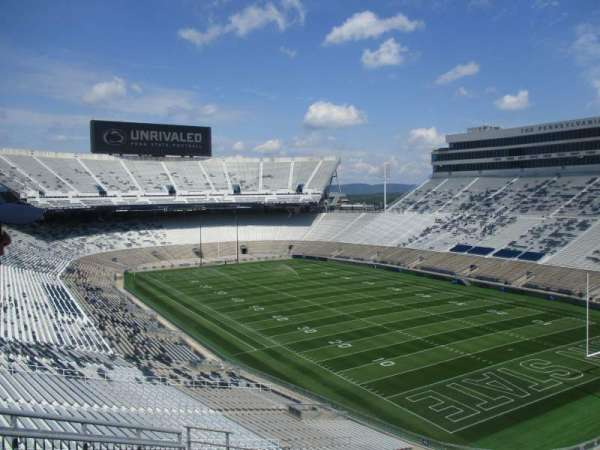 BEAVER STADIUM, section: SLU, row: 3, seat: 5