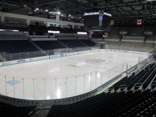 Pegula Ice Arena, section: 112, row: LB, seat: 1