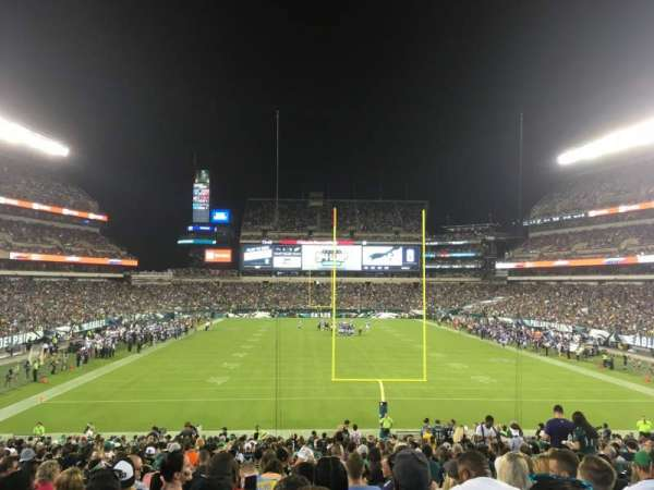 Lincoln Financial Field, section: 110, row: 31, seat: 6