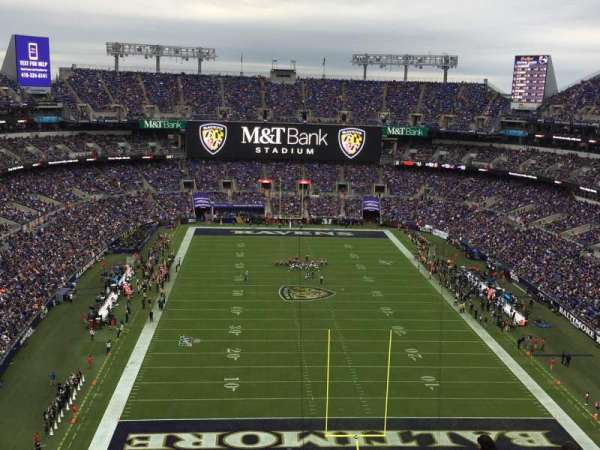 M&T Bank Stadium, section: 541, row: 19, seat: 6