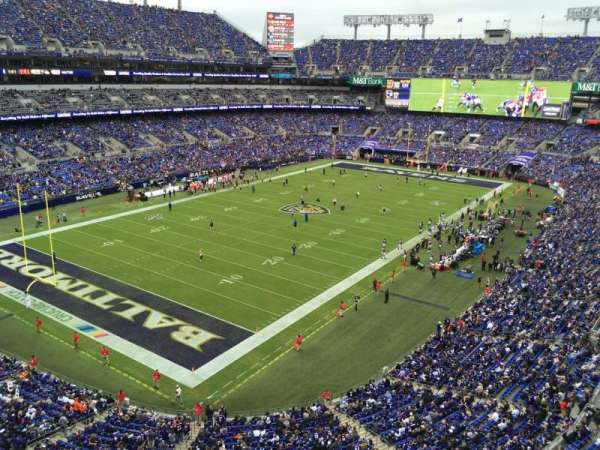 M&T Bank Stadium, section: MCCORMICK, row: Sro, seat: SRO