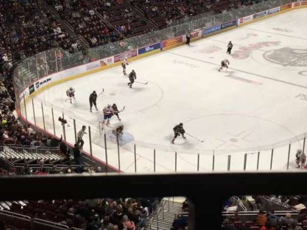 Giant Center, section: 216, row: A, seat: 14