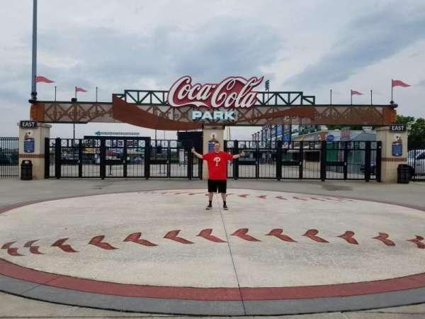 Coca-Cola Park, section: EXTERIOR