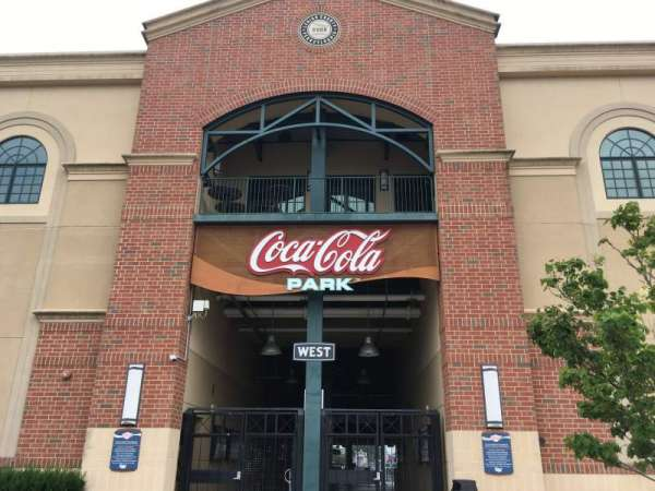 Coca-Cola Park, section: WEST, row: EXTERIOR