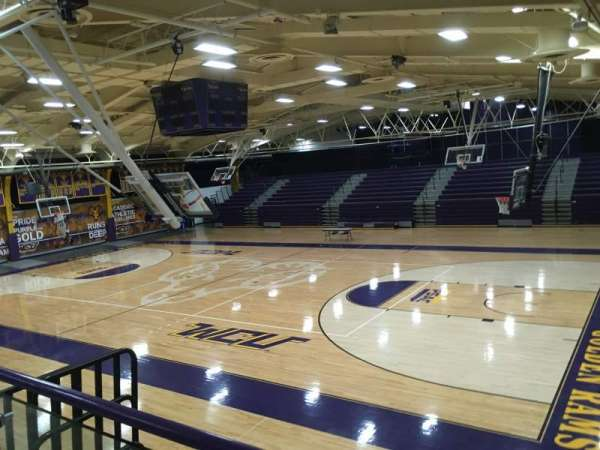 Hollinger Field House, section: CENTURY1, row: 1, seat: 1