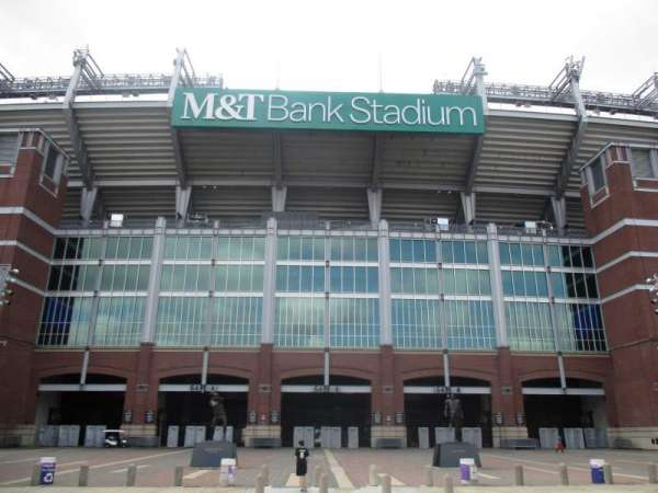 M&T Bank Stadium, section: Gate A