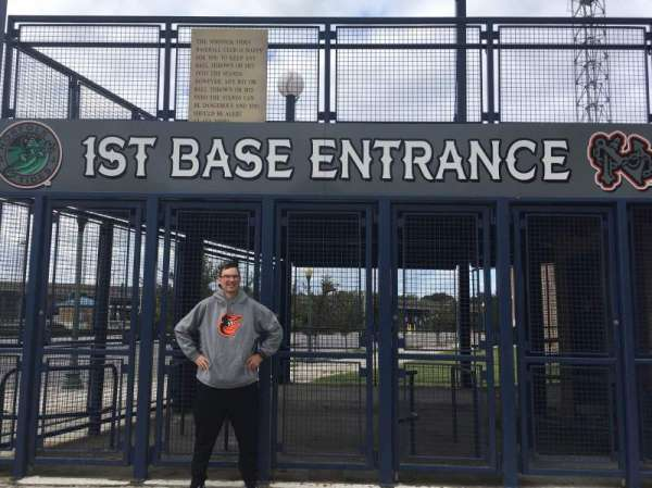 Harbor Park, section: 1st Base Gate