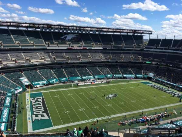 Lincoln Financial Field, section: 241, row: 21