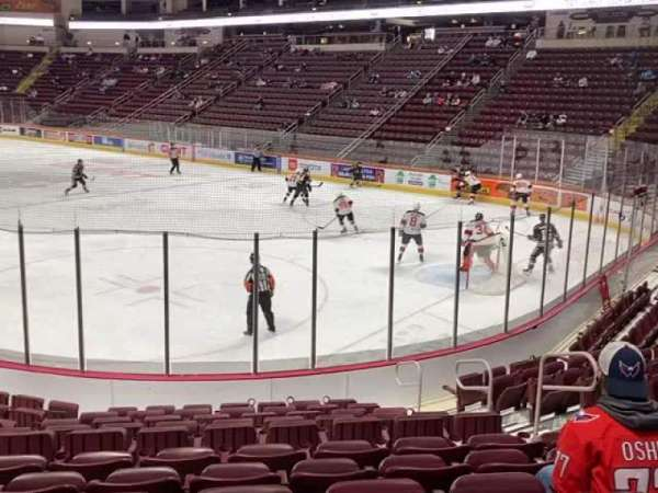 Giant Center, section: 124, row: L, seat: 7