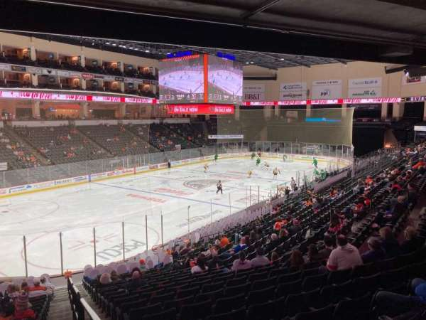 PPL Center, section: 106, row: 21, seat: 1
